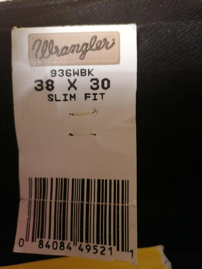 Wrangler, Cowboy Cut, slim fit 38-30, das Original