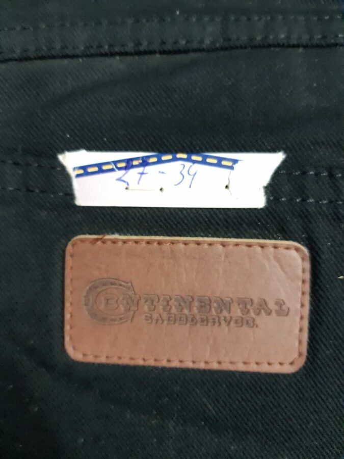 Continental Jeans, 1771, Stretch, black