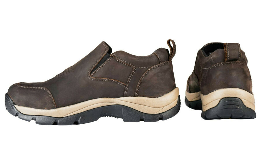 HORKA Outdoor slipon Schuhe, Leder, braun