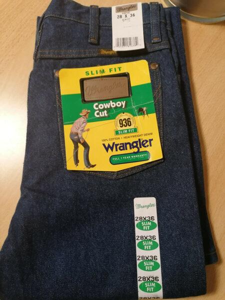 Wrangler, Cowboy Cut, slim fit 28-36, das Original