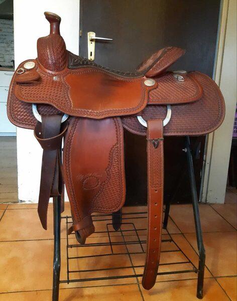"""Billy Cook Westernsattel, """"The Van Hargis"""" All-Around Saddle 6500, gebraucht!"""