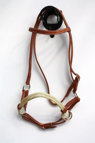 Side Pull - Nylon Rope doppelt - Harness Kopfstück