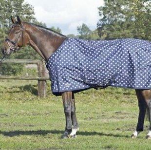 Paddock/Regendecke STARS, Fleece gefüttert, 155cm