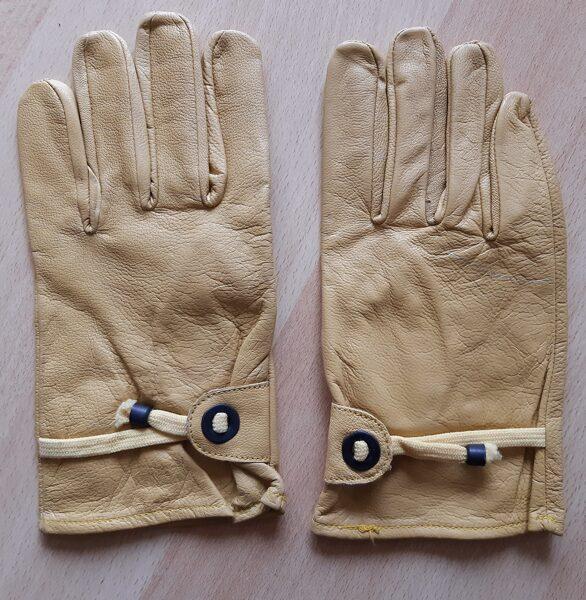 Cowboy-Handschuhe, gelb, ungefüttert