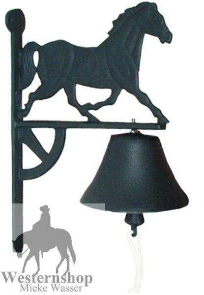 Nostalgische Glocke mit Pferd
