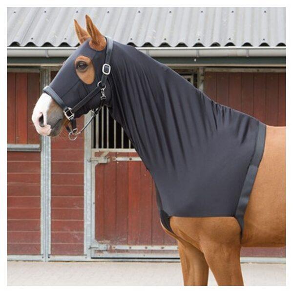 Sleezy, Kopf-Hals-Schulter Schutz, 4-wege Stretch, schwarz