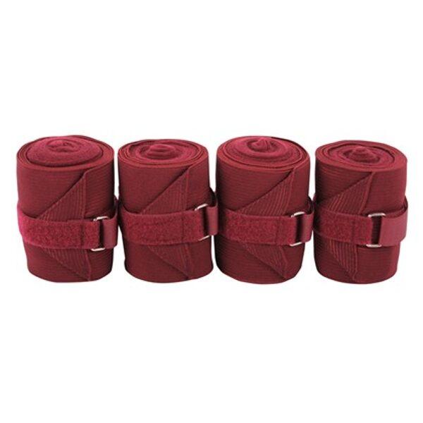 Bandagen elastisch + Fleece 4 Stück