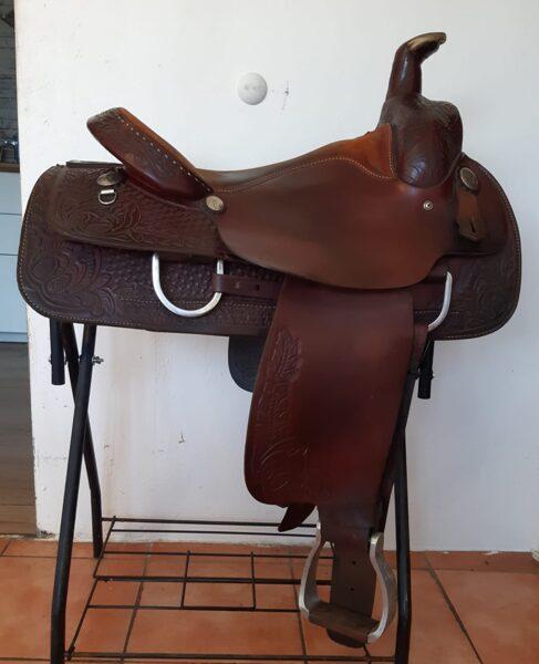 Westernsattel, Big Horn Ranchsaddle 1609, gebraucht