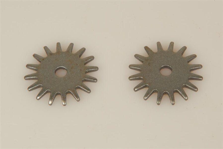 "Sporenräder - Black Steel Typ 1 (16 point) ""Rock Grinders"""