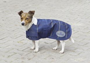 Hunde Regendecke 45cm, Fleece gefüttert