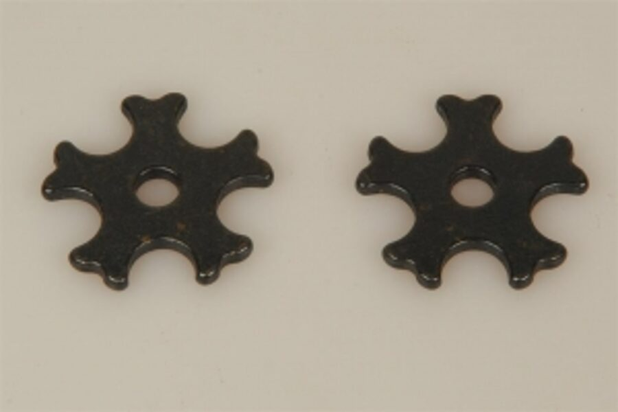 Sporenräder - Black Steel Typ 4 (5 dubble Points)
