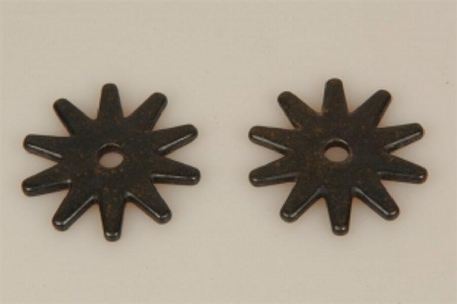 Sporenräder - Black Steel Typ 5 (10 Point)