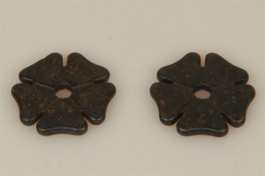 Sporenräder - Black Steel Typ 6 - kleines Kleeblatt