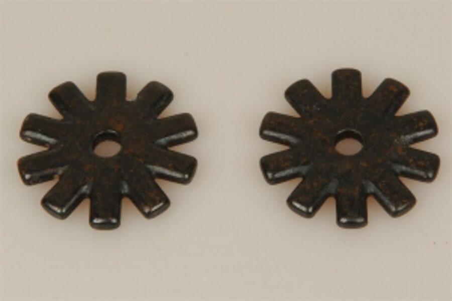 Sporenräder - Black Steel Typ 7 - (10 Point)