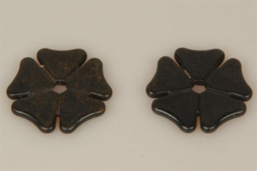 Sporenräder - Black Steel Typ 8 - big Maple Leaf